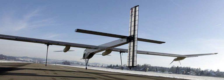 Solar impulse plane photo