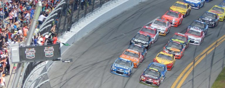 Daytona car race picture