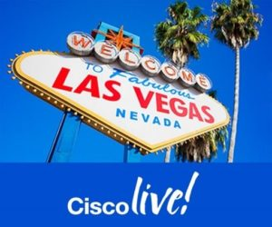 Cisco live Las Vegas sign picture