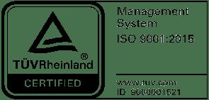 Logo for ISO9001 certificate