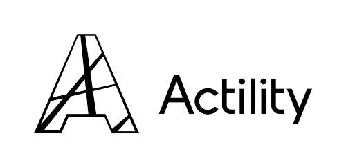 Actility logo all black no tagline