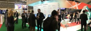 Mobile World Congress Actility booth picture small