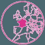 Pink France mini map