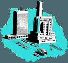 Green smart city illustration small