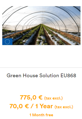 Green House solution