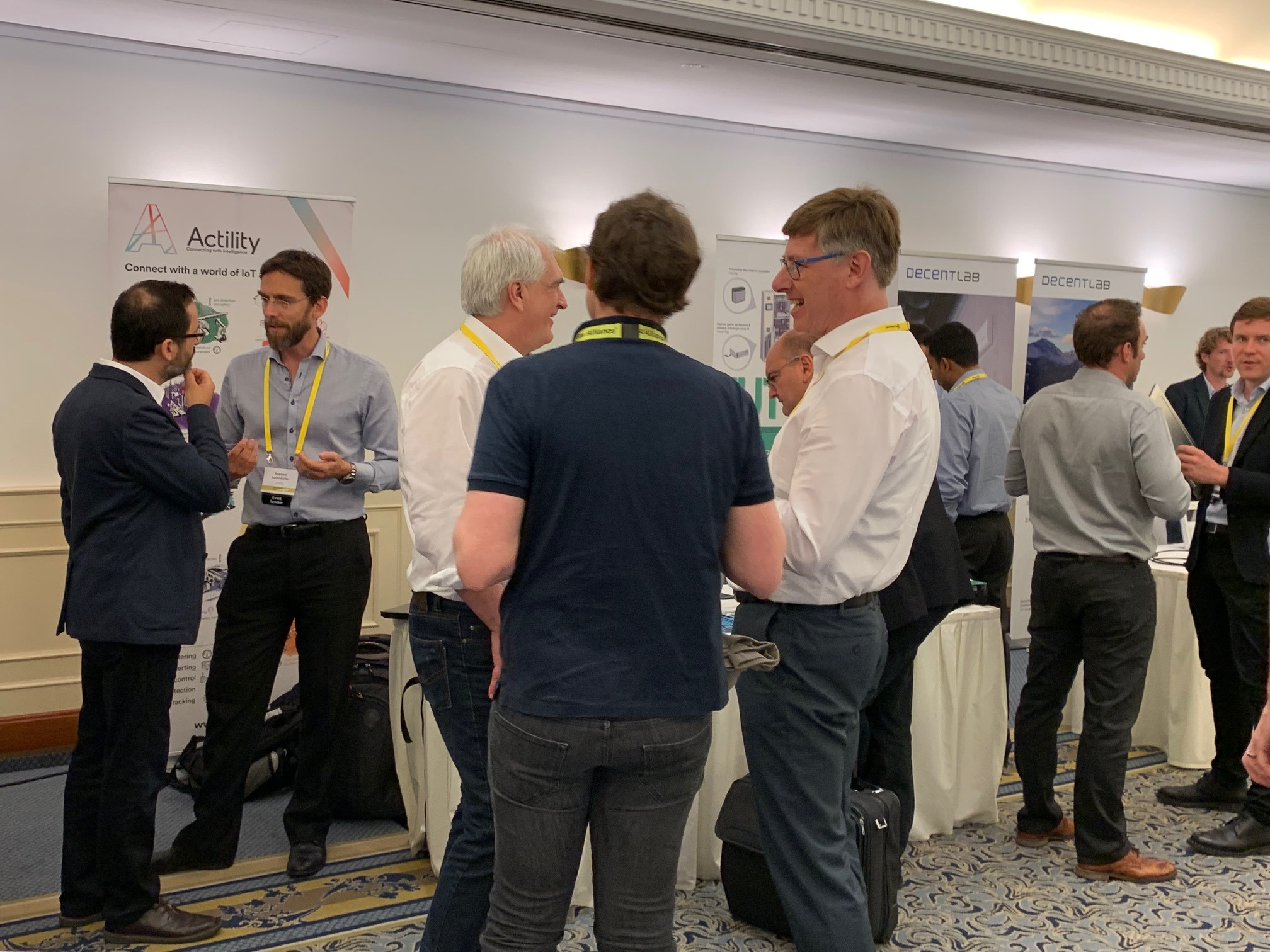 LoRa Alliance AMM Actility Booth
