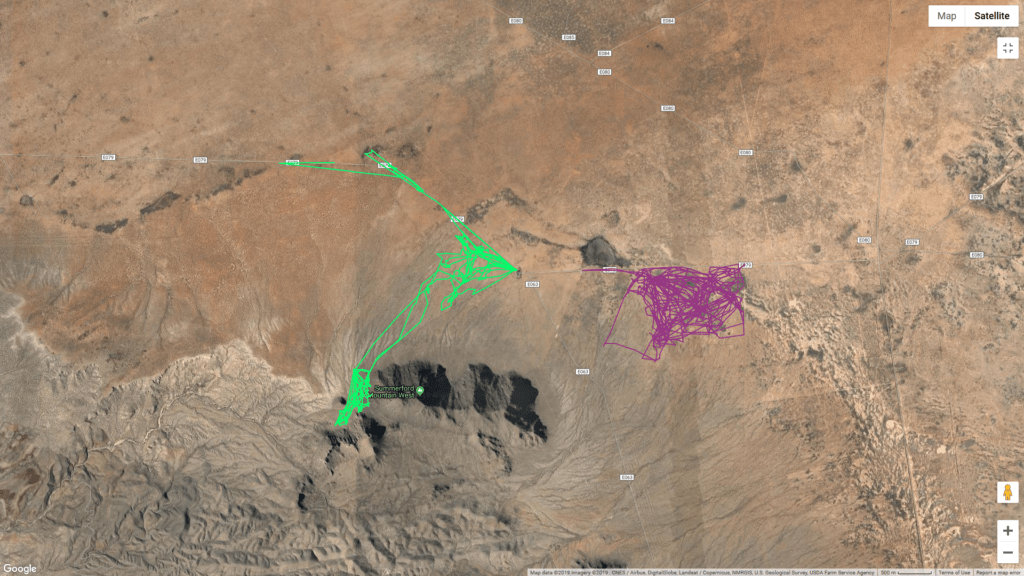 cattle tracking and monitoring screenshot