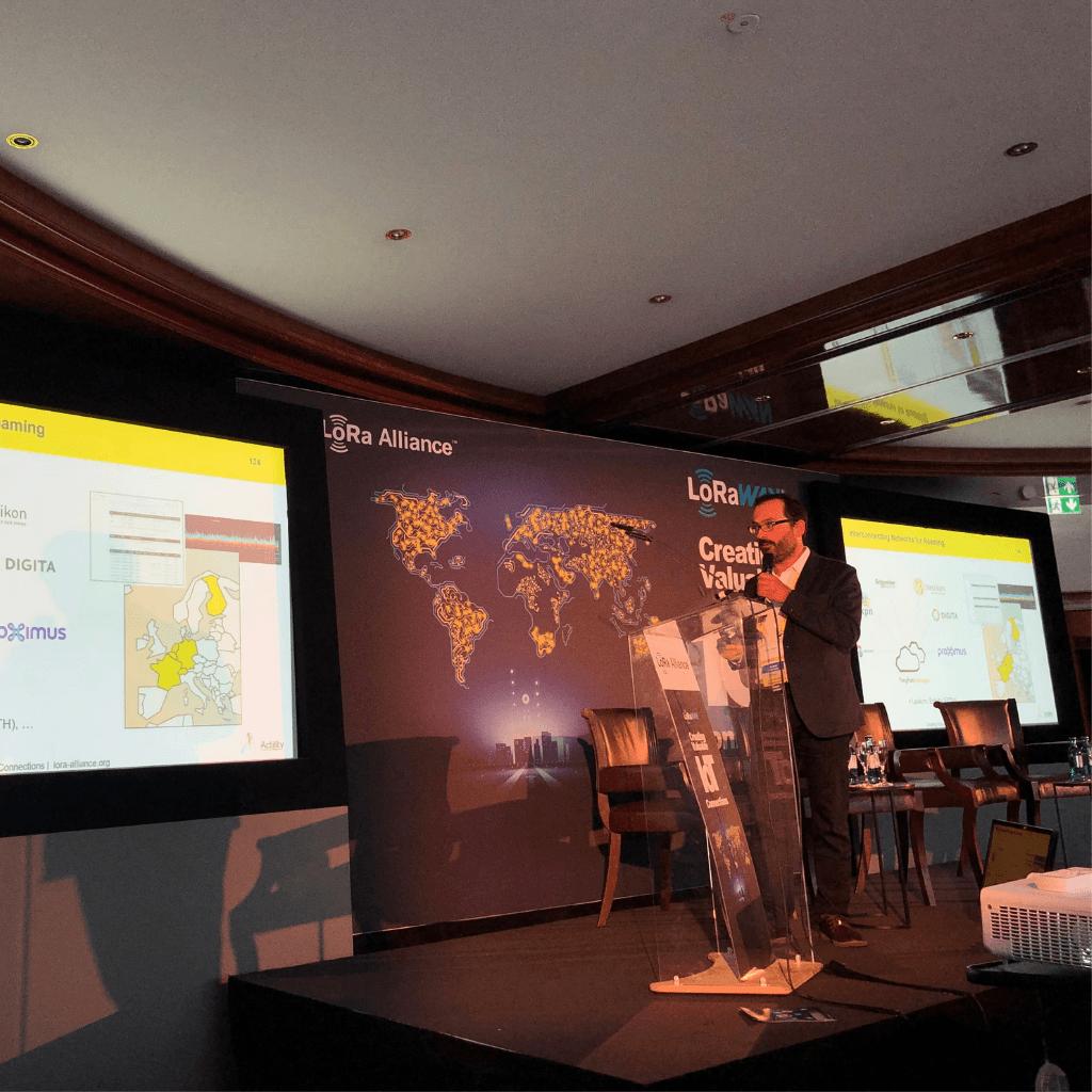 Alper Yegin talks about Actility's ThingPark Exchange roaming hub at the LoRa Alliance AMM 2019