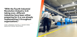 digital transformation in manufacturing featured image