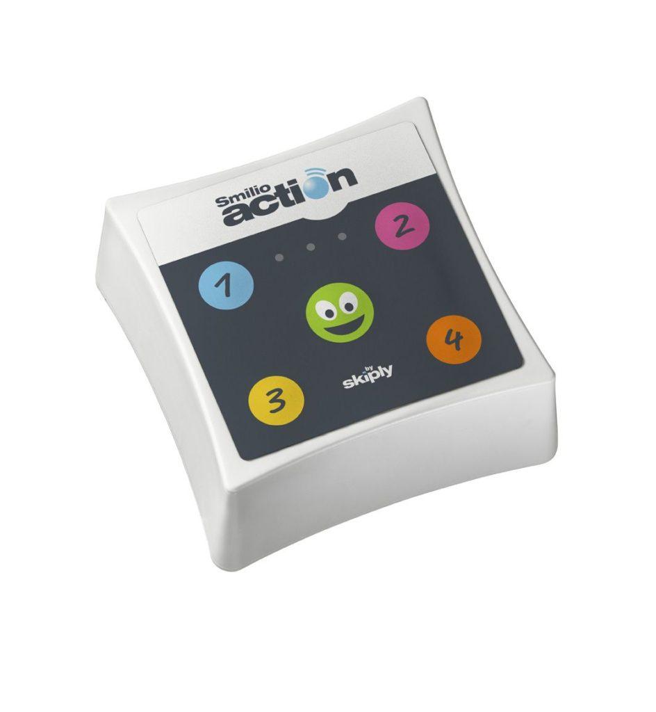 Smilio connected button sensor