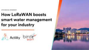 Webinar: How LoRaWAN boosts smart water management for your industry​