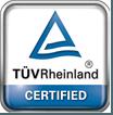 tuv rheinland iso certification logo