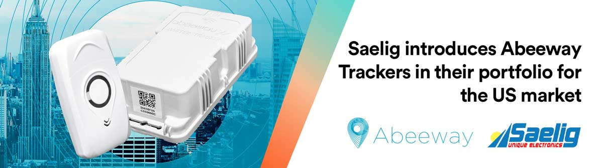 Specialist Distributor Saelig Launches Abeeway Location Tracking Sensors to USA market
