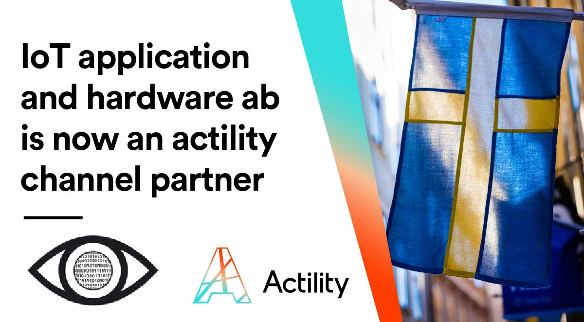 IoT Application and Hardware AB is now an Actility Channel Partner