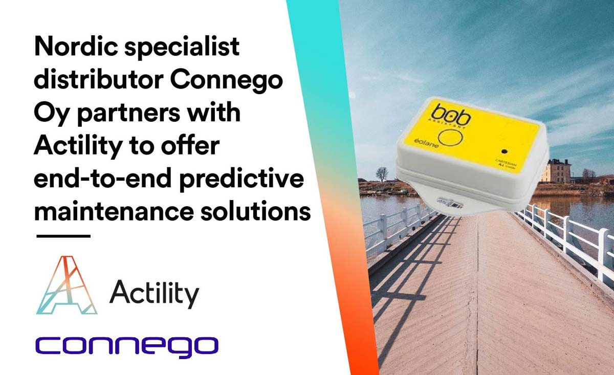 Nordic specialist distributor Connego Oy partners with Actility to offer end-to-end predictive maintenance solutions