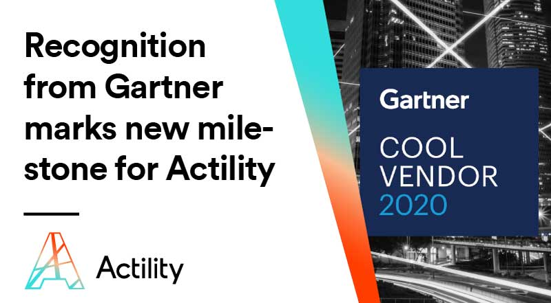 Actility named a Cool Vendor in Gartner's 2020 Cool Vendors Research