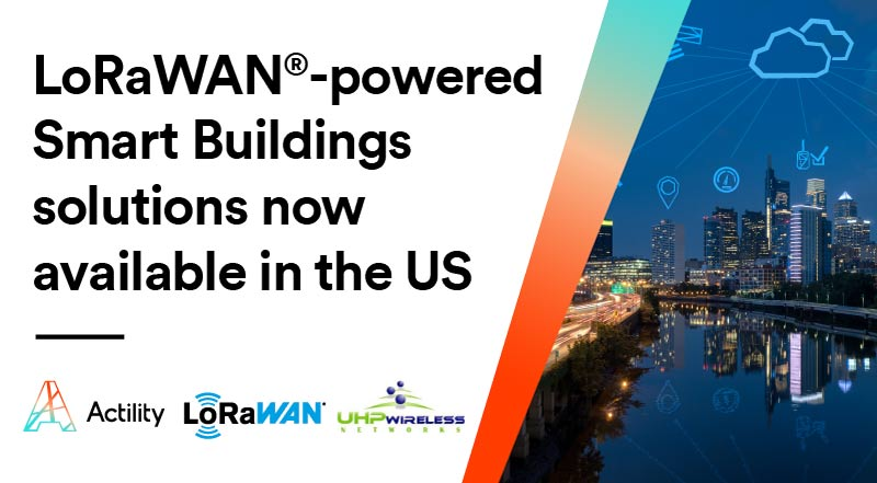 LoRaWAN-powered Smart Buildings solutions now available in the US