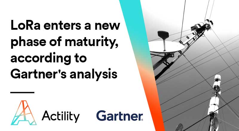 LoRaWAN connectivity provider Actility recognized in Gartner's Hype Cycle for IoT Standards and Protocols, 2020
