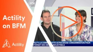 Actility on BFM TV image