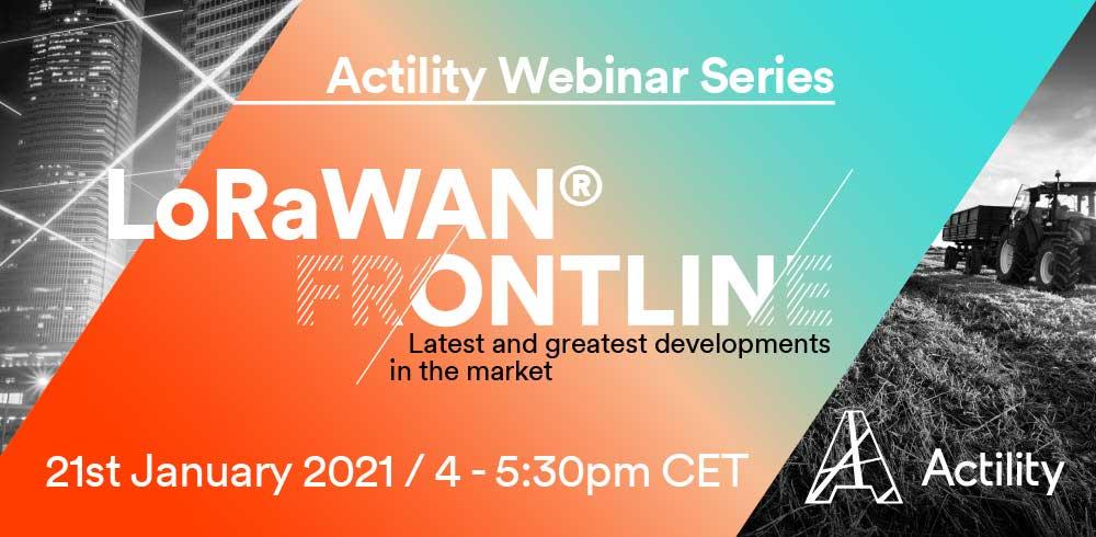 LoRaWAN® Frontline Webinar Series