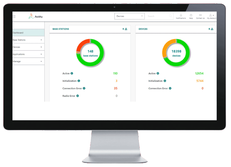 ThingPark Enterprise screenshot