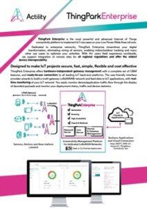 ThingPark Enterprise datasheet thumbnail
