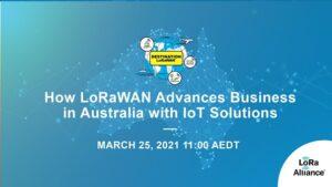 LoRaWAN Advances Business webinar image