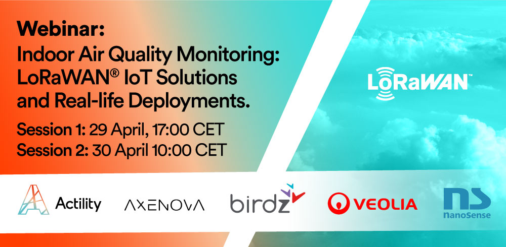 Indoor Air Quality Monitoring: LoRaWAN® IoT Solutions and Real-life Deployments.