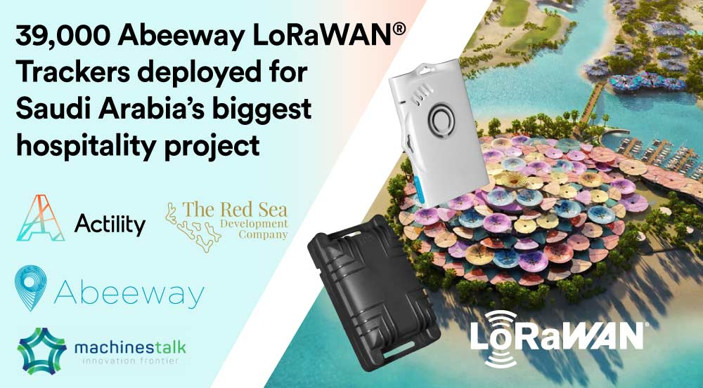 Red Sea Project deploys Abeeway LoRaWAN® Trackers for Construction Workforce and Vehicles