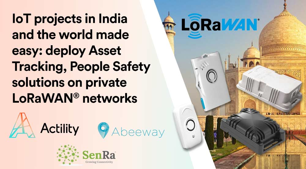 SenRa and Actility intensify partnership to deploy LoRaWAN® end-to-end solutions