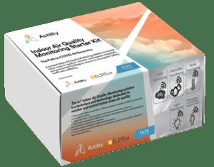 Packshot of the Air quality starter kit