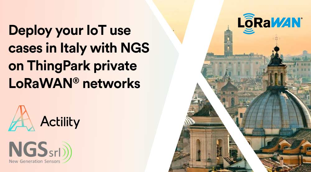 NGS and Actility Partner to deliver turnkey IoT solutions