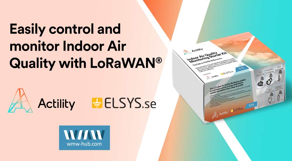 Easily control and monitor Indoor Air Quality with LoRaWAN®