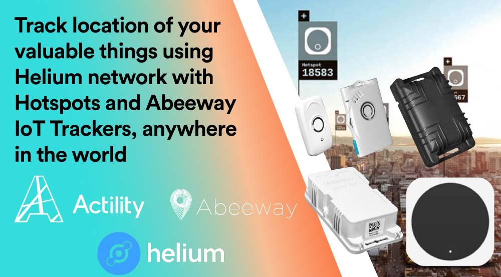 Actility and Abeeway Enable Global Indoor-Outdoor Asset Tracking on Helium's Global Peer-to-Peer IoT Network