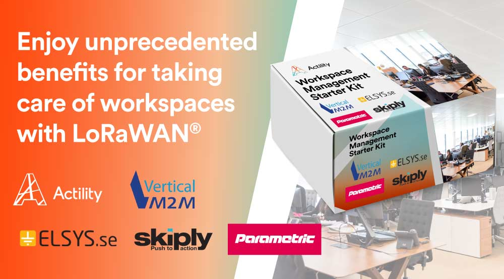 Optimize Workspace Management with the Latest End-to-End IoT Solution