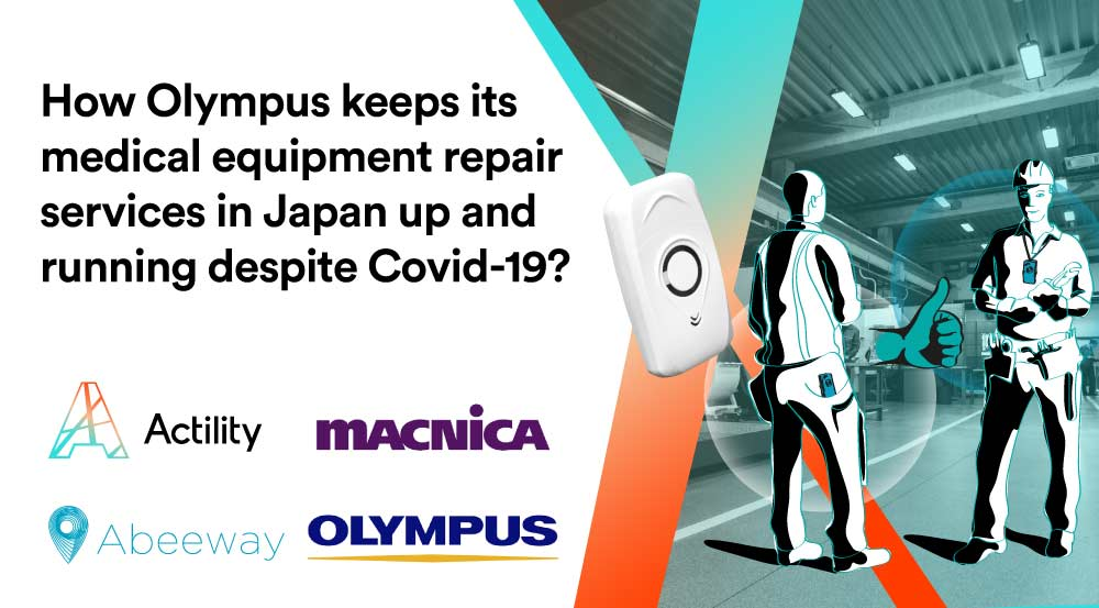 Olympus adopts Proximity Detection and Contact Tracing in its Japanese Factories to Fight Against COVID-19 using LoRaWAN