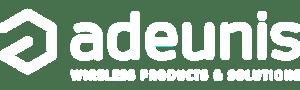 Adeunis-white logo